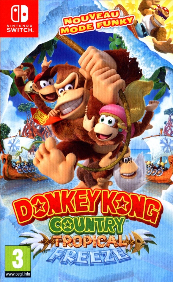Donkey Kong Country: Tropical Freeze [NSW] (F)