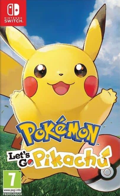 Pokémon Let's Go, Pikachu! [NSW] (F)