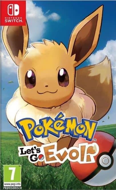 Pokémon Let's Go, Evoli! [NSW] (F)