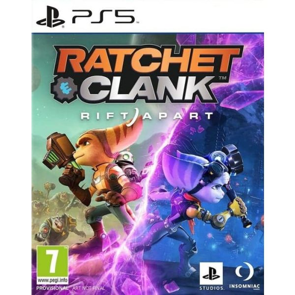 Ratchet Clank Rift Apart cover