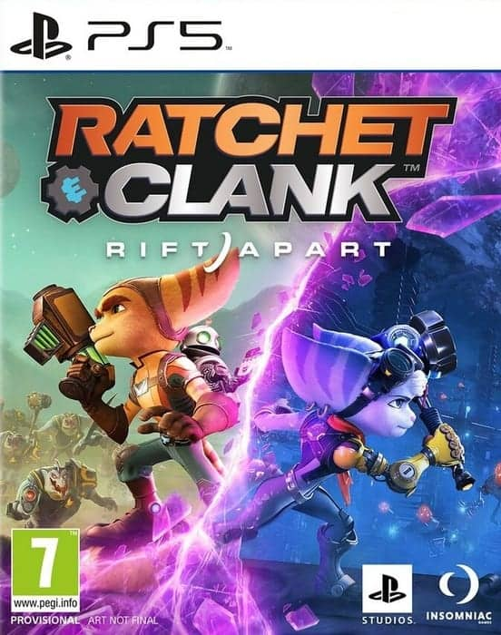 Ratchet Clank Rift Apart cover