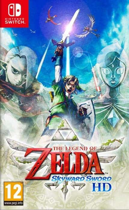 The Legend of Zelda Skyward Sword HD NSW DFI