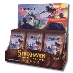 mtg strixhaven display booster extension