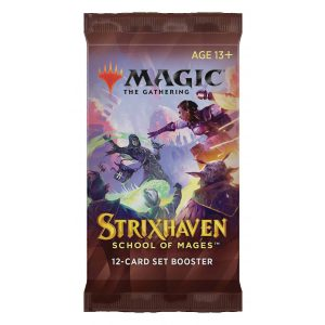 strixhaven l academie des mages booster d extension