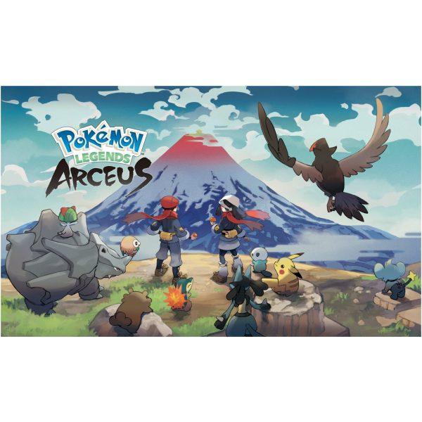 pokemon legends arceus mount coronet artwork scaled