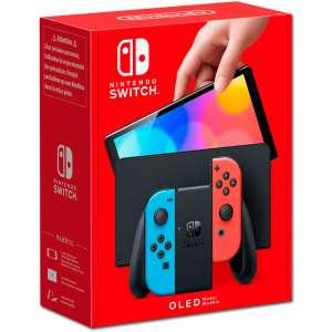 NintendoSwitchOledRedBlue