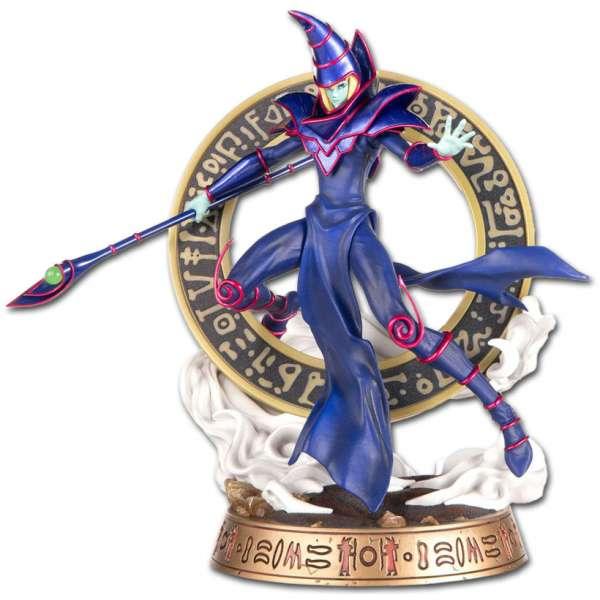 yu gi oh dark magician blue variant pvc statue