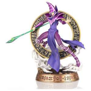 yu gi oh dark magician purple variant pvc statue1