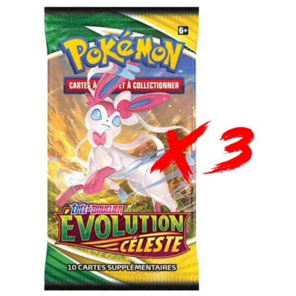 Pokemon evolution Celeste booster fr 1