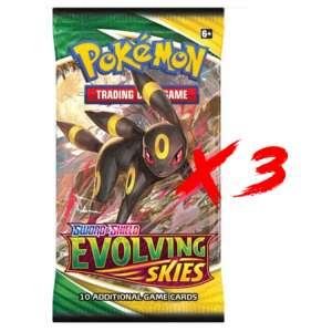Pokemon evolving Skies booster EN