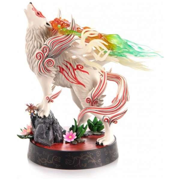okami pvc painted statue shiranui celestial howl 693845.1